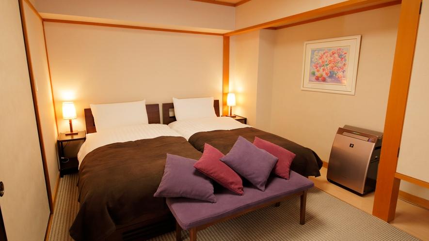 2階特別室和洋室タイプ寝室(イメージ)