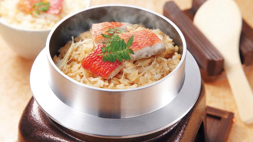 金目鯛の釜飯(イメージ)
