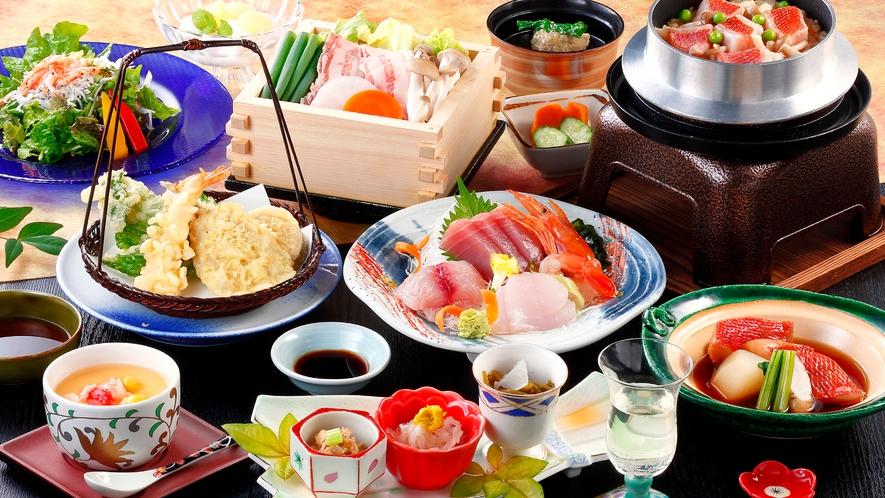 金目鯛釜飯のご夕食(イメージ)