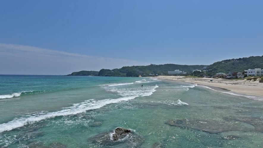 白浜海岸からの眺め