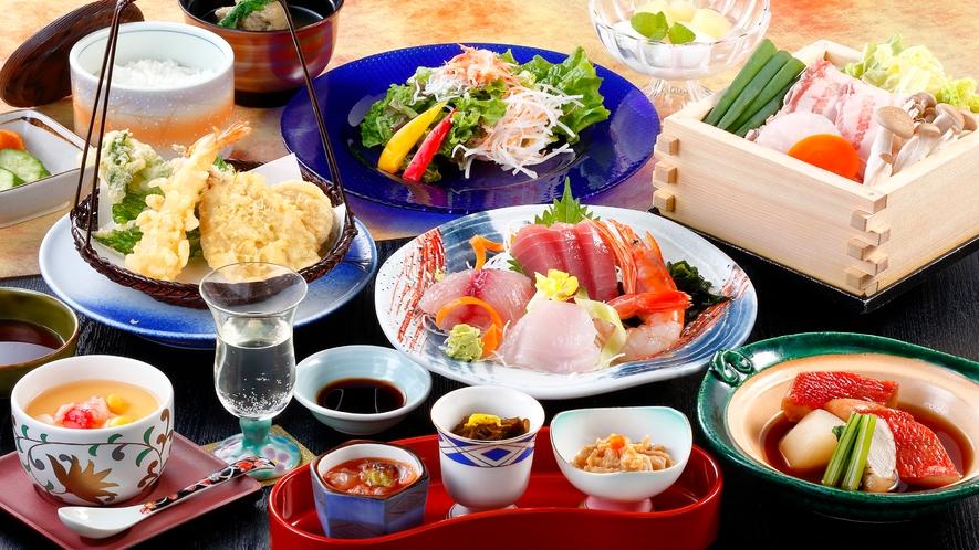 白浜御膳のご夕食(イメージ)