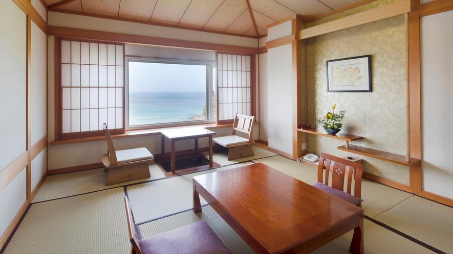 本館海側和室10畳(一例)