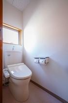 コテージ室内トイレ