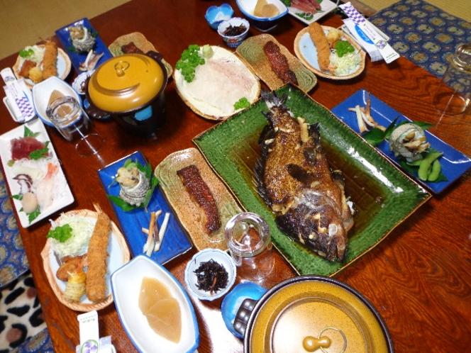 ★自分で釣った魚を料理