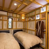 ●広々由布岳眺望ツイン(205号) ベッドルーム