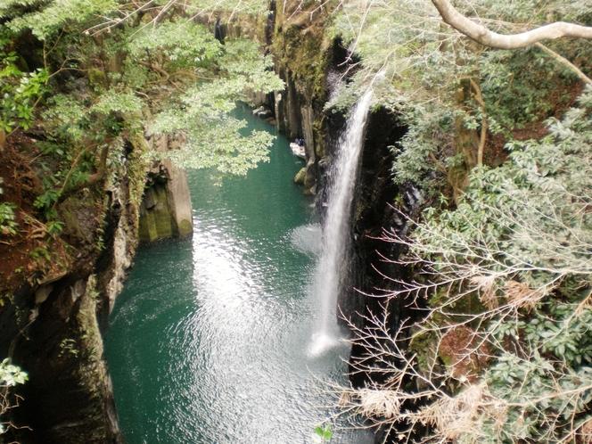 高千穂峡・眞井の滝