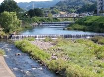 河の堰ダム