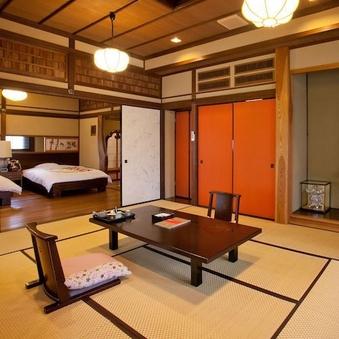 貴賓室 明治後期建築の茶室を移築した3間続きの和洋室ー草庵ー