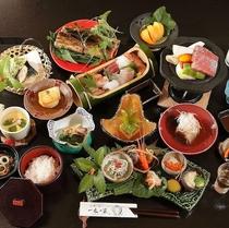 【夕食】大切な方との時間に花を添えることができる、美しく美味しいお料理を志しております/例
