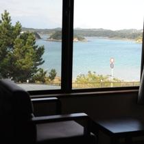 *お部屋一例/紺碧に輝く天草の海を眺めて…