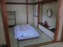 奥の部屋。