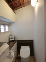 秋月 お部屋のトイレです。