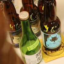 食堂のセル用地ビール