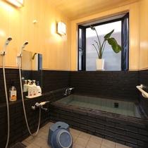 コンパクトな貸切風呂