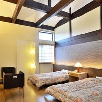 【デラックスツイン】2015年8月に新設されたお部屋