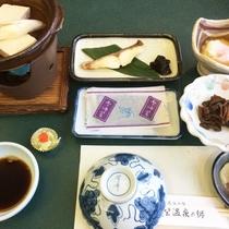 【朝食一例】和定食をレストランにてご用意します