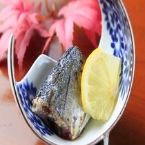 秋鮭柚香焼き