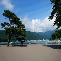 ≪戸田≫水質の良い御浜海水浴場
