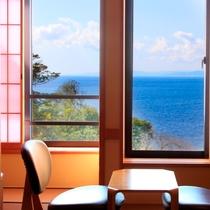 和室(一例)~全室駿河湾を一望~