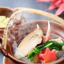 【秋】椀替~松茸土瓶蒸し