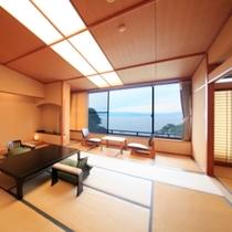 広々空間の次の間付き和室(一例)
