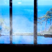 駿河湾を一望 大浴場・露天風呂