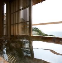 半露天風呂付き和室(一例)