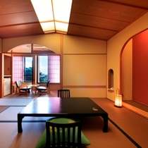 和室(一例)~日本の趣を感じさせる純和風のお部屋~