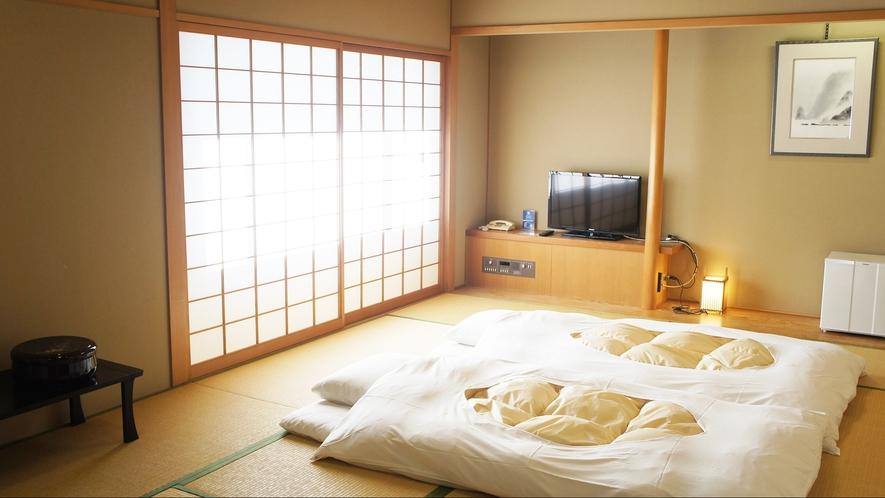 ・和室_畳の心地よい匂いで良い目覚めを。