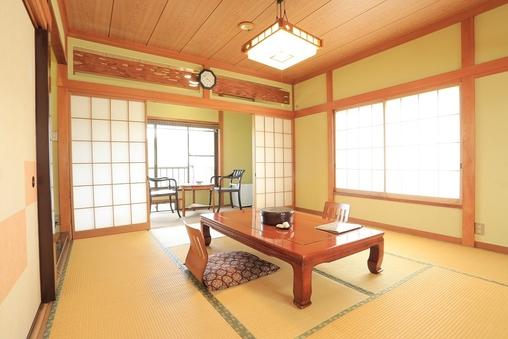 【花の間・月の間】和室12畳+広縁 ※お風呂付