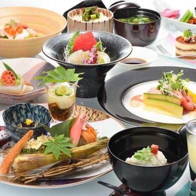 【楽天トラベルセール】【日本酒6種類のマリアージュ】14室の隠れ宿で和食膳全9品に合わせた日本酒を