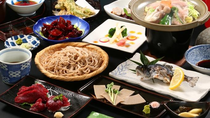【スタンダード】一番人気!馬刺し&手打ち蕎麦&鳥もつ煮■山梨の味満載!