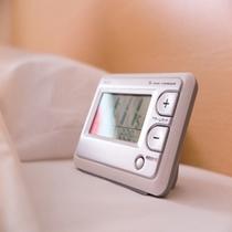 ♡【目覚まし時計】:モーニングコールサービスがないため、こちらの目覚まし時計をご利用ください!