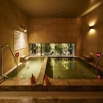 ♡【茜草の湯①】:2つ浴槽があります。人工炭酸泉なので、リラックス効果があります☺