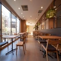 ♡【朝食コーナー①】:ビュッフェスタイルの朝食会場です。朝食は大人1100円です♪