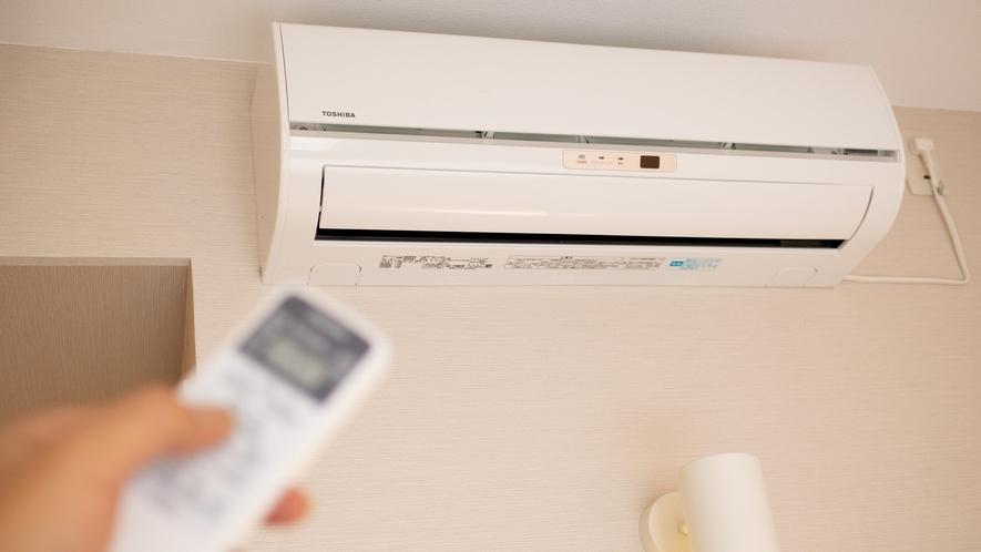 【Smart】個別式空調を全客室に完備