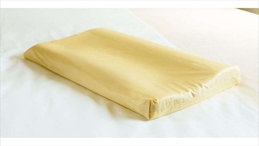 【Smart・貸出枕・数量限定】低反発黄色・ほどよい硬さと高さです。初めての方はまずはお試しください