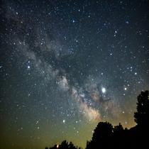 晴れてる日は満点の星空が広がります