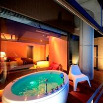 露天風呂付き和洋室(一例)