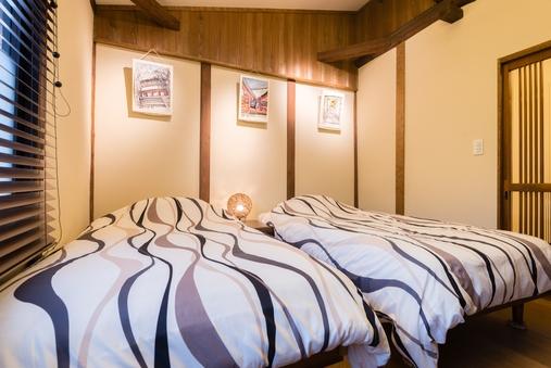 2階建て京町家一棟貸し(2LDK)5名様まで宿泊可能