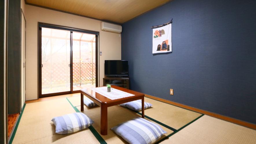 和洋室◆屋外犬も泊まれるようにお庭に専用犬舎がございます