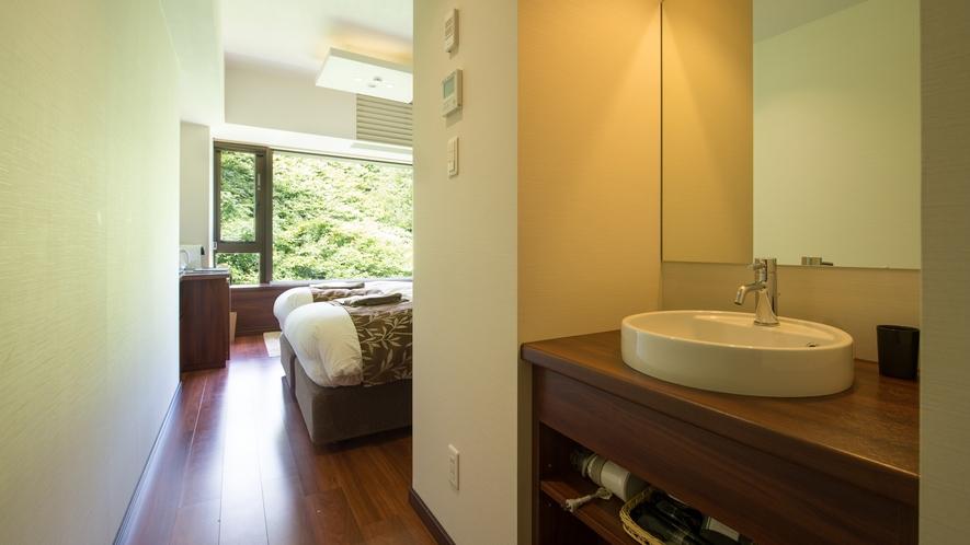 【ホテルルーム】洗面スペース