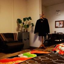 ■広いお部屋の洋室 ツインデラックス(トリプル)<禁煙>