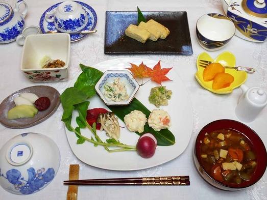 玄米も選べて「郷土の季節料理ご膳」:1泊朝食付きプラン