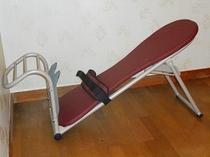 腰痛や肩こりの解消に中川式ストレッチベンチ