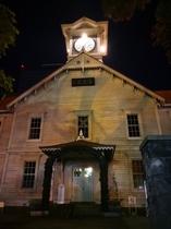 夜の札幌時計台