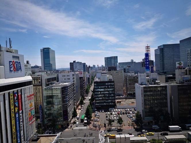 JRタワーからの景色
