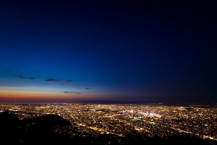藻岩山からの夜景