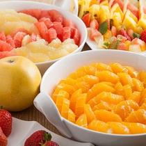 【朝食ブッフェ】フルーツ