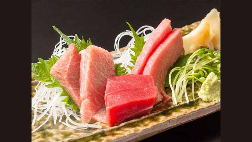 【追加お料理】大間産本マグロ刺身 3点盛(赤身中トロ大トロ)